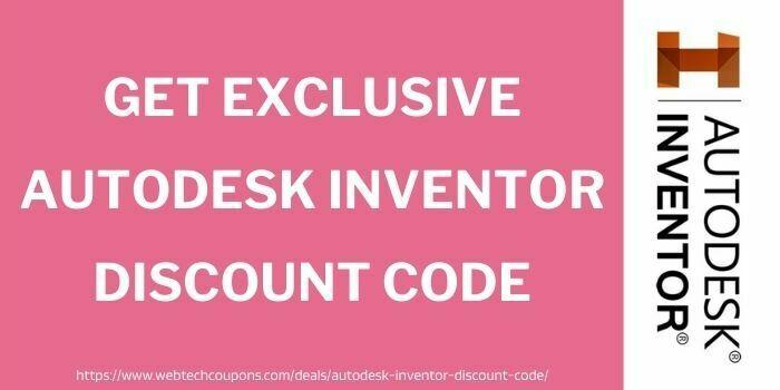 Exclusive Autodesk Inventor Discount Code