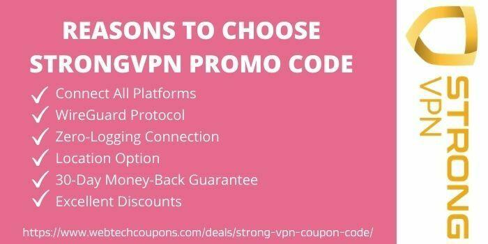 reason to choose strongvpn