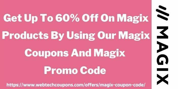 Magix Promo Code WWW.Webtechcoupons.com