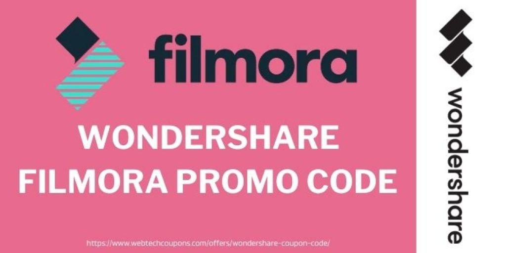 Wondershare Filmora Promo Codes