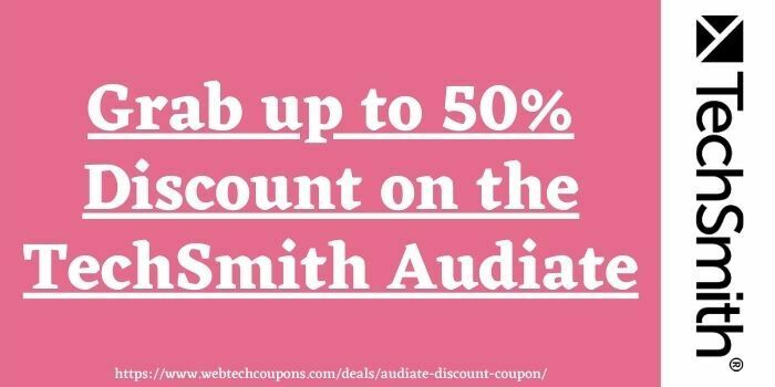 Audiate Discount Coupon Code