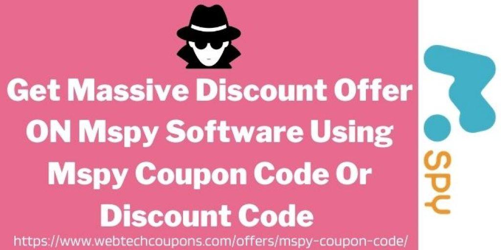 Mspy Online Coupon Code www.webtechcoupons.com