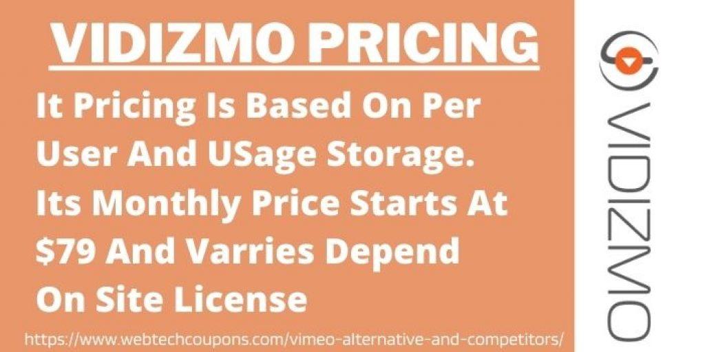 VIDIZMO vimeo alternative and competitors