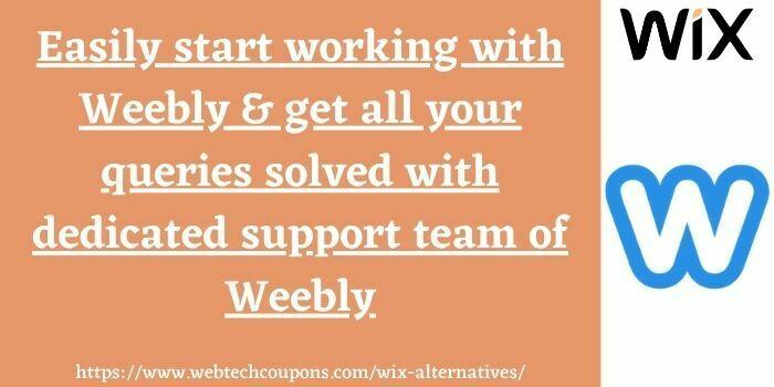 best alternative to wix weebly