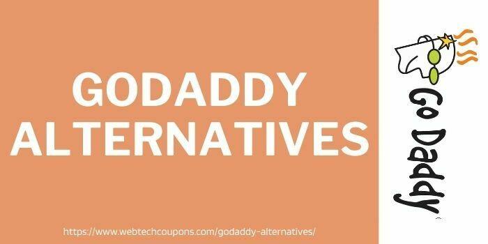 best godaddy alternatives