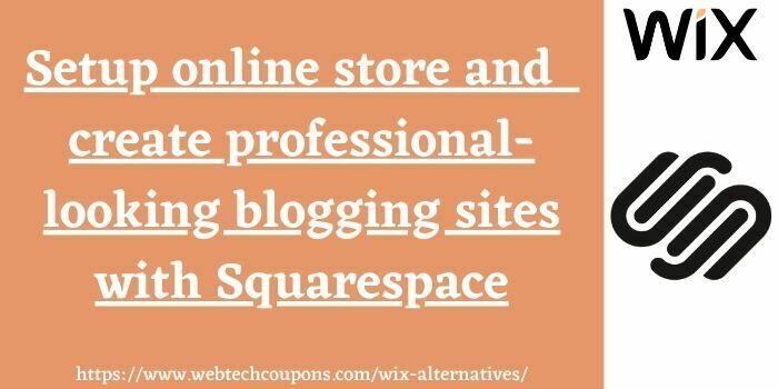 site like wix squarespace