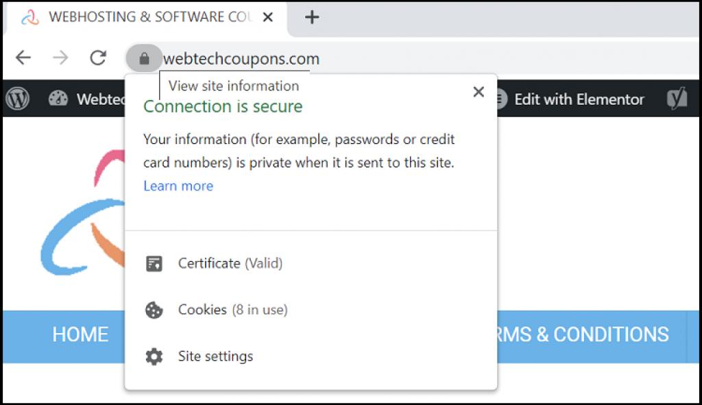 ssl error certificate