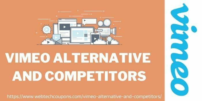 vimeo Alternative www.webtechcoupons.com