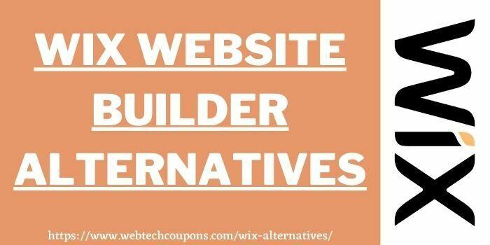 wix alternatives www.webtechcoupons.com