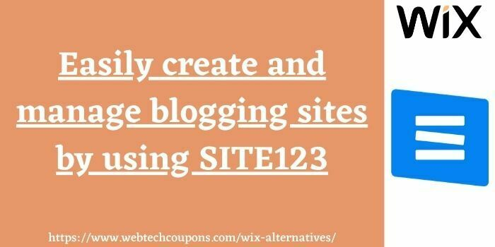 wix competitor site123