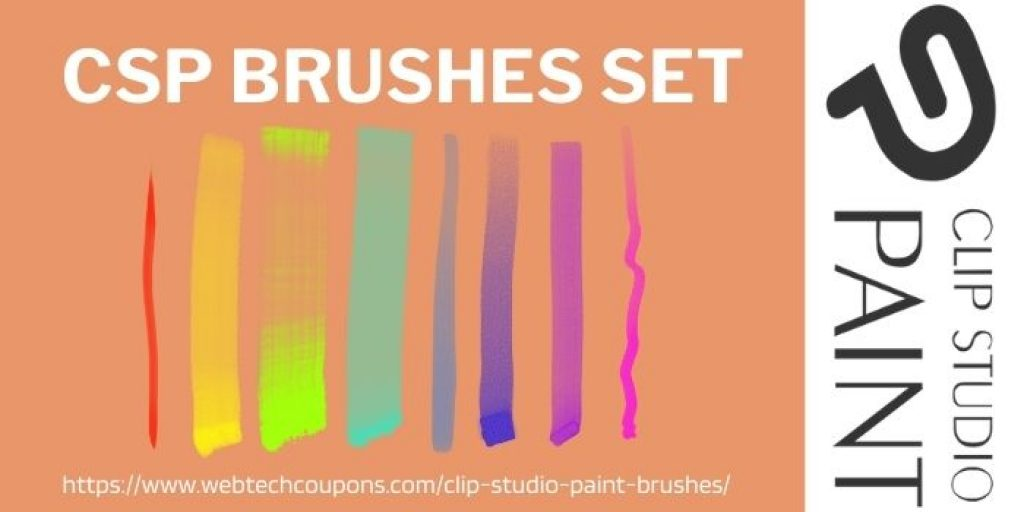 CSP brushes set