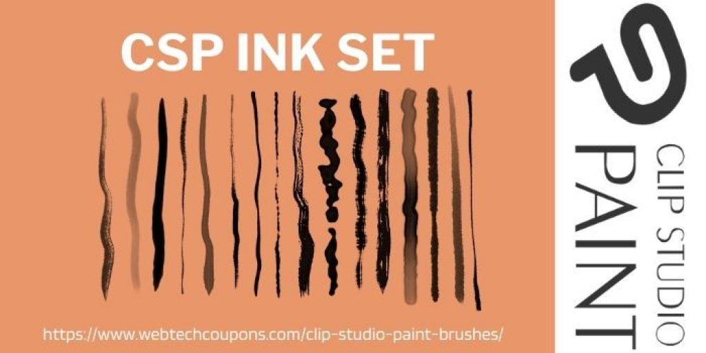 CSP ink set