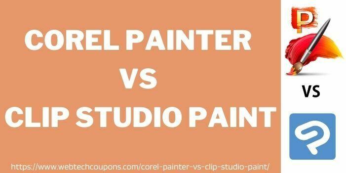 Which is better corel painter vs clip studio paint www.webtechcoupons.com