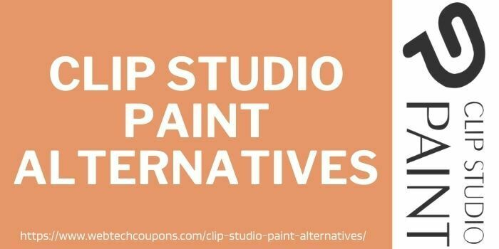 alternatives to clip studio paint