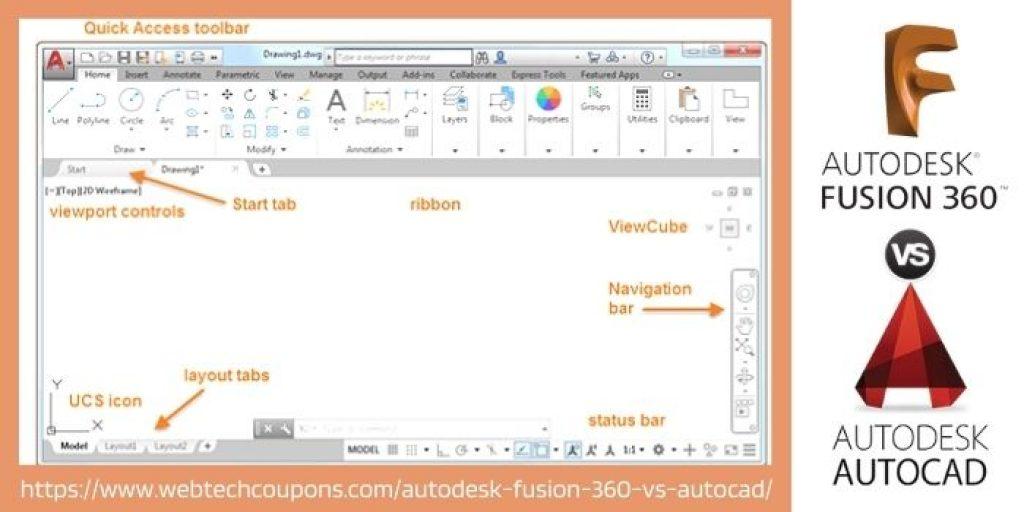 autocad user interface