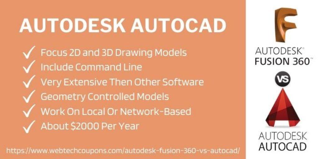 autodesk autocad features
