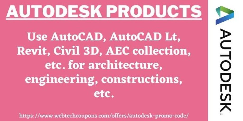 Autodesk Discount on Autodesk Products