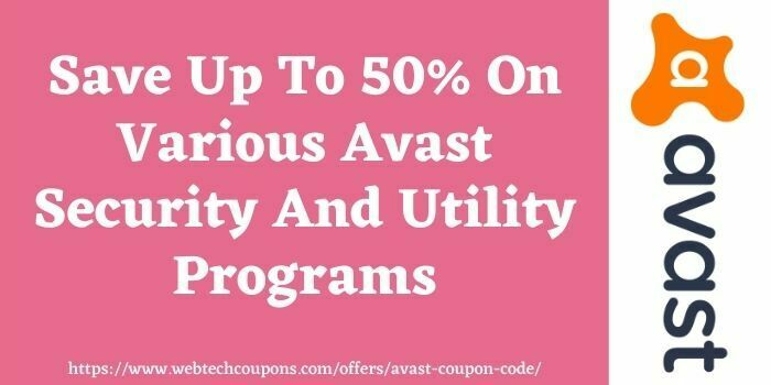 Avast coupon code www.webtechcoupons.com