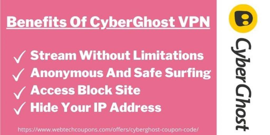 Benefits Of CyberGhost VPN