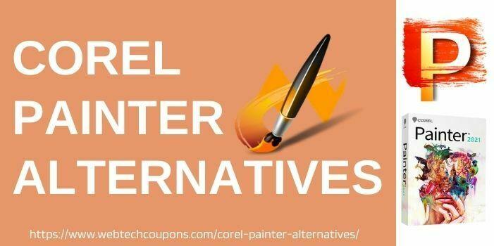 Corel Painter Alternatives www.webtechcoupons.com