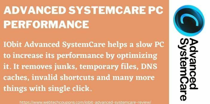 IObit Advanced SystemCare 14 Performance