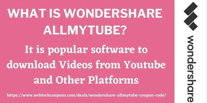 AllMyTube Discount Code