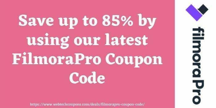 FilmoraPro coupons