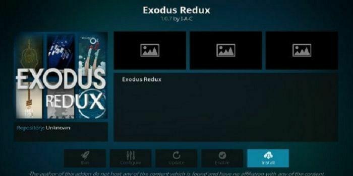 Exodus Redux Working Kodi Addon
