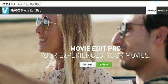 Magix Movie Edit Pro is a Wondershare Filmora Alternative
