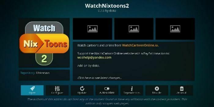 watchnixtoons2 addons for kodi