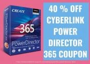 Grab 40% Off Cyberlink PowerDirector 365 Coupon Codes 2021