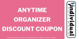 AnyTime Organizer Discount Coupon