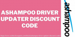 Ashampoo Driver Updater Discount Code | Upto 50% Off Coupon