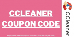 CCleaner Coupon, Promo Code 2021 | Get Exclusive Upto 70% Off CCleaner Coupons