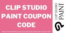 Clip Studio Paint Coupon Code 2021 | Exclusive 50% off Clip Studio Paint Sale
