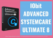 Advanced SystemCare Ultimate 8 for $29.99