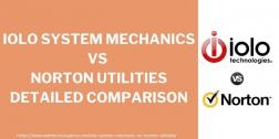Iolo System Mechanic vs Norton Utilities 2021 Comparison