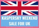Save Upto Kaspersky 50% Off Coupon On Weekend Sale For UK