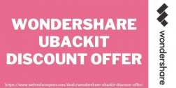 Wondershare UBackit Discount Offer 2021   Get Wondershare UBackit at Discounted Price