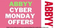 ABBYY FINE READER Black Friday & Cyber Monday Sale – Discount Offers & Deals