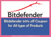 Bitdefender 60% off Coupon Code for All type of Products 2021