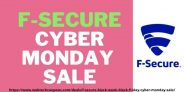 F-Secure Black Week – Upto 50% off on Black Friday and Cyber Monday Sale