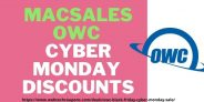 Macsales OWC Black Friday & Cyber Monday Sale 2020 with Discount Deals