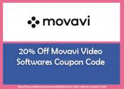 20% Off Movavi Video Softwares Coupon Code for Editor, Suite, Converter & Slideshow Maker 2021