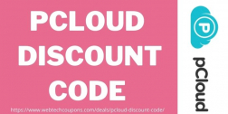 pCloud Discount Code 2021   Grab Upto 75% Off On pCloud Stroage Service!